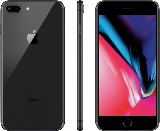 Apple iPhone 8 Plus Black 64GB